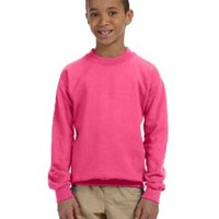 GILDAN G180B- Heavy Blend™ Youth 8 oz., 50/50 Fleece Crew