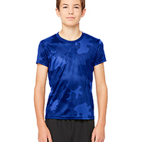 ALO SPORT Y1009- Youth Performance Short-Sleeve T-Shirt