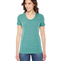 AMERICAN APPAREL- TR301 Ladies' Triblend Short-Sleeve Track T-Shirt
