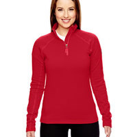 Ladies' Stretch Fleece Half-Zip