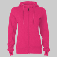 ATC PRO FLEECE FULL ZIP HOODED LADIES� SWEATSHIRT