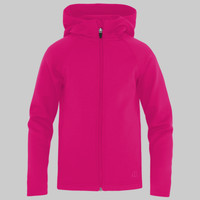 ATC PTECH FLEECE HOODED GIRLS JACKET