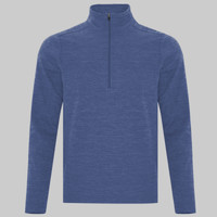 ATC DYNAMIC HEATHER FLEECE 1/2 ZIP SWEATSHIRT