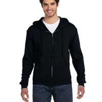 FRUIT OF THE LOOM- 82230 12 oz. Supercotton™ 70/30 Full-Zip Hood