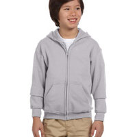 GILDAN- G186B Heavy Blend™ Youth 8 oz., 50/50 Full-Zip Hood