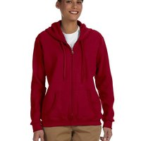 GILDAN- G186FL Heavy Blend™ Ladies' 8 oz., 50/50 Full-Zip Hood