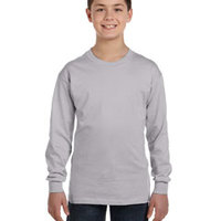 GILDAN- G540 Heavy Cotton™ Youth 5.3 oz. Long-Sleeve T-Shirt