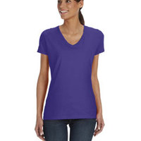 FRUIT OF THE LOOM- L39VR Ladies' 5 oz., 100% Heavy Cotton HD® V-Neck T-Shirt