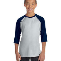 ALO SPORT Y3229- Youth Baseball T-Shirt