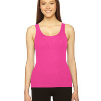 AMERICAN APPAREL- 3308 Ladies' Rib Boy Beater Tank