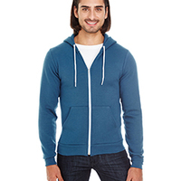 AMERICAN APPAREL- F497 Unisex Flex Fleece Zip Hoodie