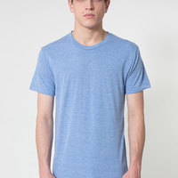AMERICAN APPAREL-TR401 Tri-Blend Track Shirt