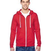 FRUIT OF THE LOOM SF60R -6 oz., 100% Sofspun™ Cotton Jersey Full-Zip