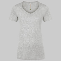 ATC EUROSPUN RING SPUN V-NECK LADIES' TEE
